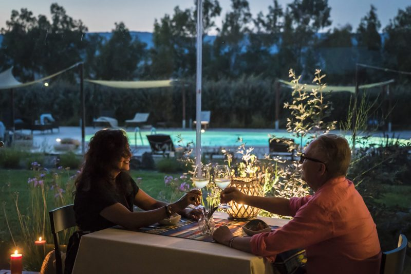 Sardinia Restaurant Dinner unforgettable food and wine experience Is Cheas